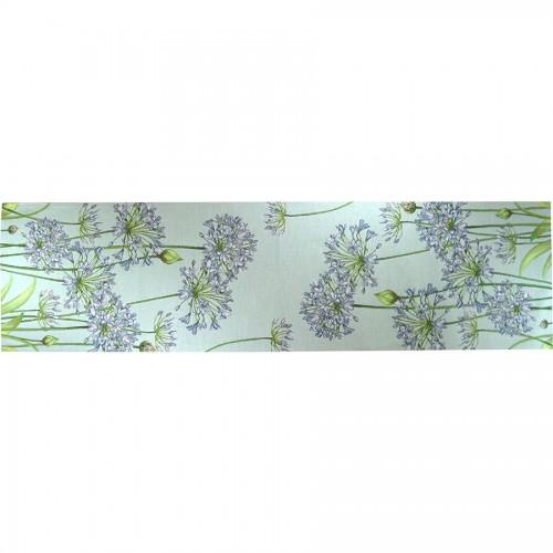 Дорожка декоративная Agapanthes fond bleu