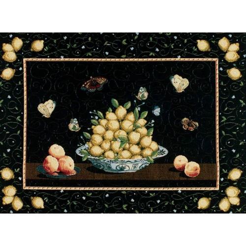 Гобелен Vase aux citrons