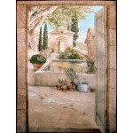 Гобелен с рисунком Paysage en Provence
