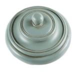 Шкатулка круглая с патиной 16302