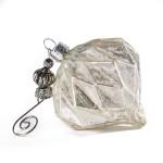 Игрушка ёлочная Glass Onion Antique white