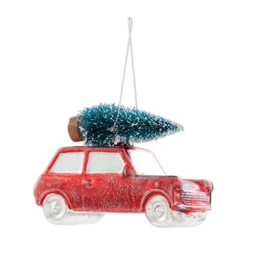 Игрушка елочная New Year Car