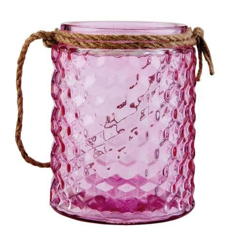 Подсвечник розовый 6GL1539P