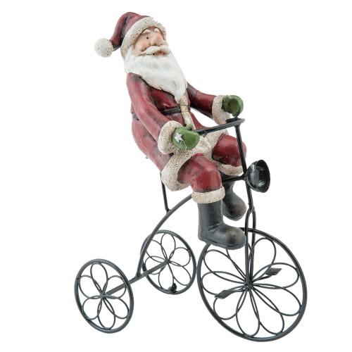 Декоративная фигура Santa on bike