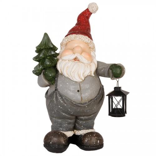 Декоративная фигура Santa in gray