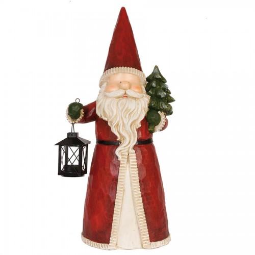 Декоративная фигура Santa with lantern