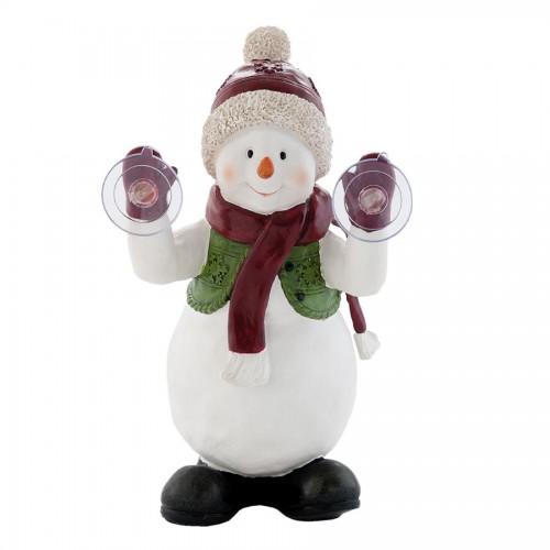 Декоративная фигура Snowman с присосками