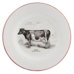 Тарелка Cow