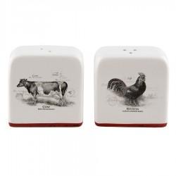Набор для соли и перца Cow Rooster