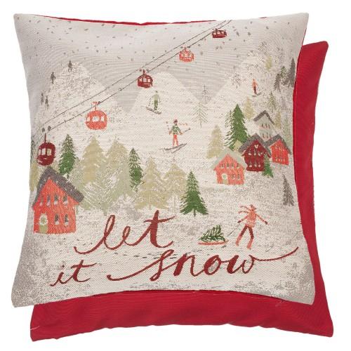 Подушка декоративная Let It Snow