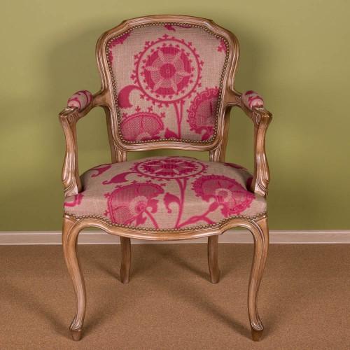 Кресло с подлокотниками Leo Cabriolet Louis XV
