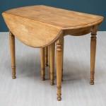 Стол обеденный раскладной Louis Philippe Вишня с патиной