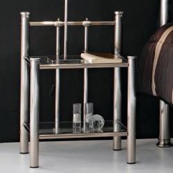 Столик прикроватный Astoria Nickel Brosse